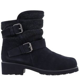 Bearpaw Avery Slouch Booties Navy Blue